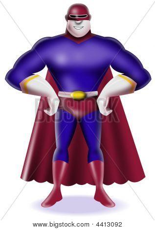 Superhero Standing