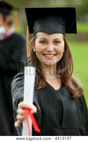 Female Graduation Portrait