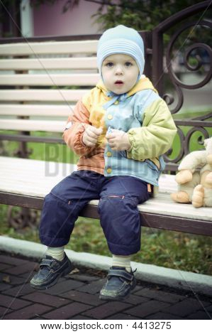 Baby On The Bench