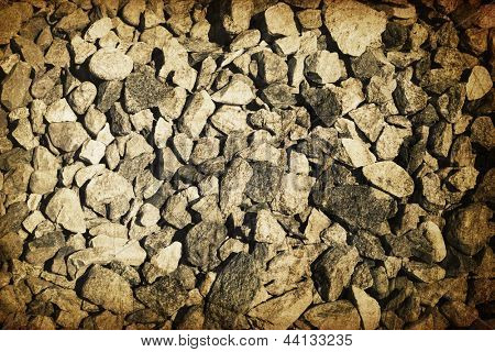 Vintage gravel vintage background