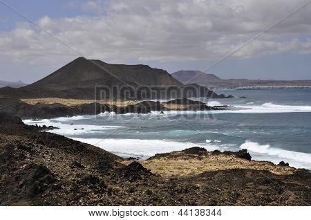 Wild Ocean On Fuerteventura