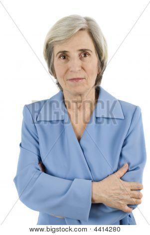 Elderly Business Woman