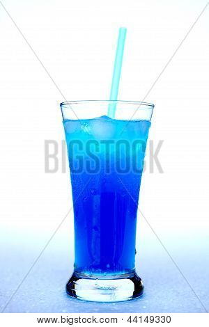 Drink blue.