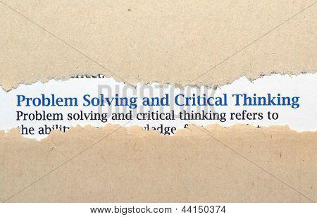 Problem Solving Concept