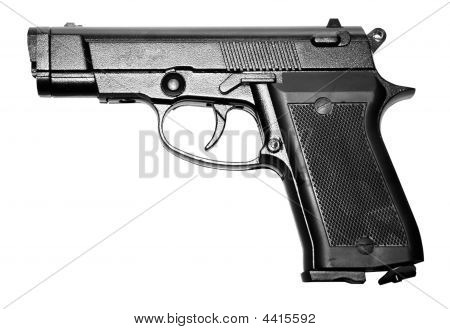 Military Black Firearm Personal Pistol