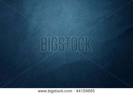 Leather Texture Blue