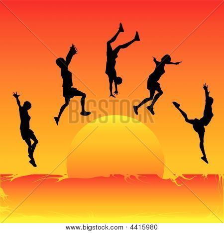 Leaping The Sun