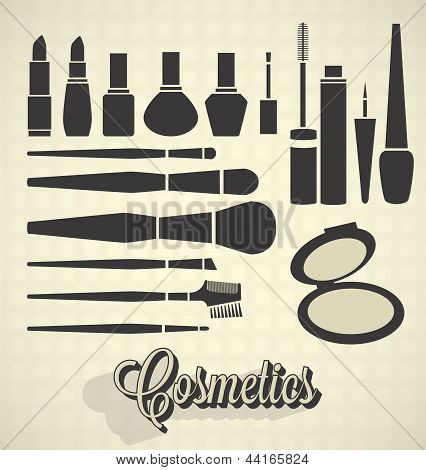 Cosmetics Silhouettes