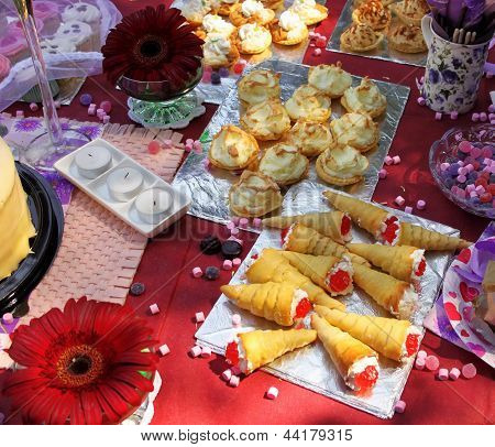 Outdoor Party Pastry