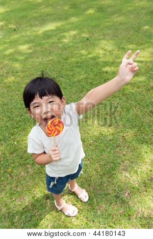 Kid With Lollipop
