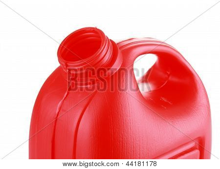 Red Oil Canister