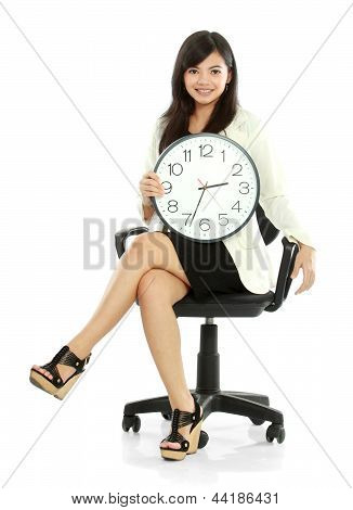 Woman Waiting