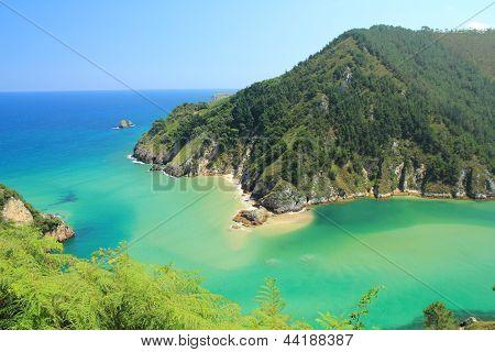 Ria Tina Menor and Sable Beach, Val de San Vicente, Cantabria.