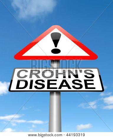 Crohn's Disease Concept.