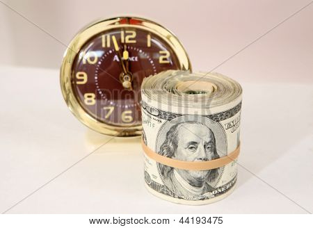 Time is Running Out ... To Pay Your Taxes, Bills, Child Support, Retirement Fund, Savings Account, Mortgage, Rent, Student Loan or any other financial concept.