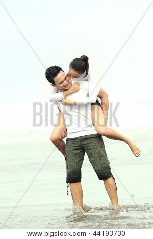 Couple Enjoying Holiday