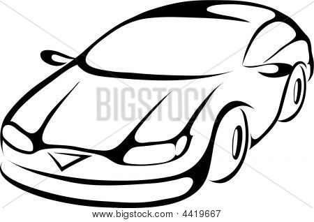 Car Line-art