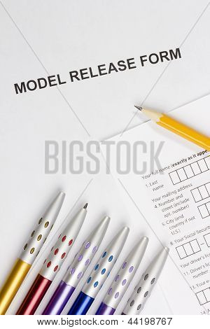 Model Release Form