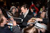 Matt Smith And Fans At The Press Night Of The Curious Incident Of The Dog In The Night 12Th March 20