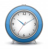 Alarm clock icon. Vector illustration