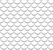 stock photo of dragon-fish  - Vector fish scale pattern - JPG