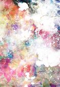 Abstract Grunge Texturen mit Wasserfarben malen-splatter