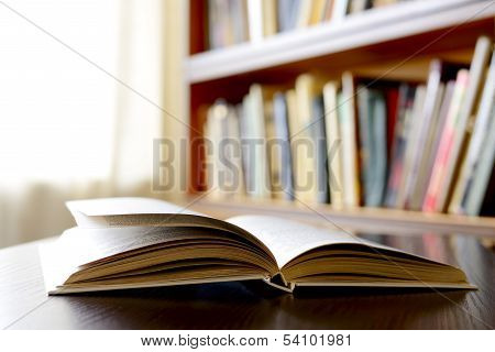 Close-up Of An Open Book