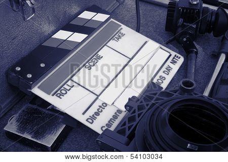 Film Slate Claqueta