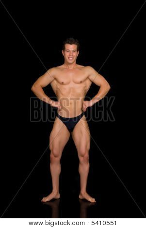 Body Builder, Contest Pose