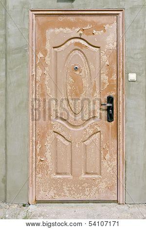 Scaly Brown  Door