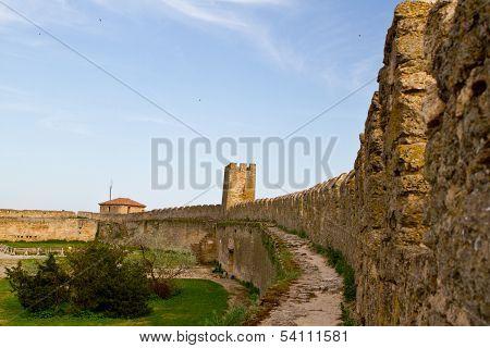 Fortress In Town Bilhorod-dnistrovski