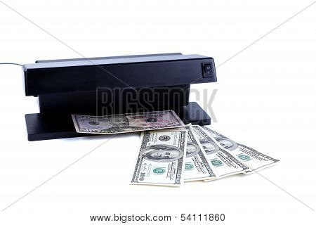 Detector banknotes and money