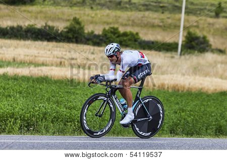 The Cyclist Peter Velits