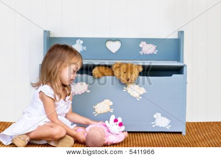Child And Toys