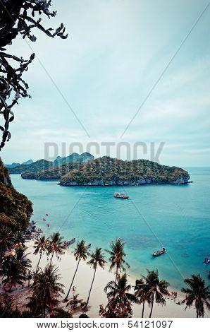 Ang-Thong national marine park, Thailand