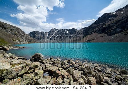 Ala-Kul - majestic mountain lake of Tien Shan