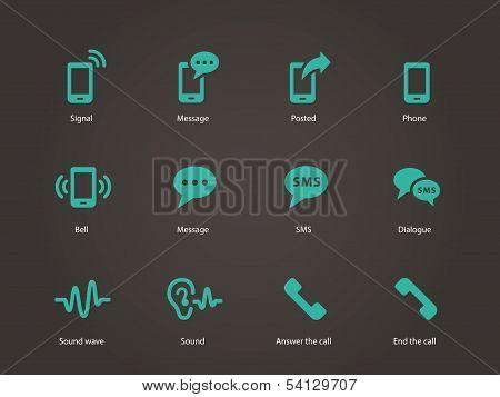 Phone icons.