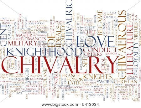 Chivalry Word Cloud