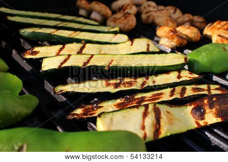 Grilled Vegetables on the Barbecue