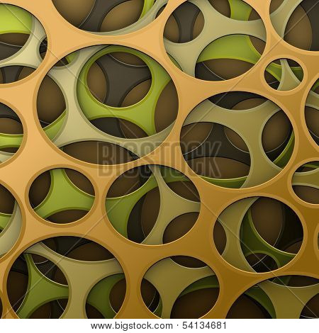 Cyber camouflage abstract background