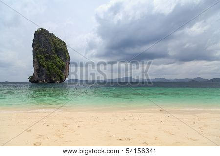 Beautiful Limestone Rock In Thailand