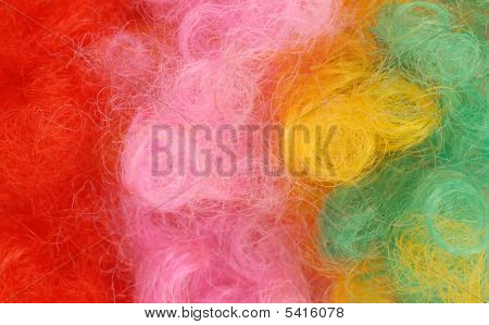 Clown Wig Background