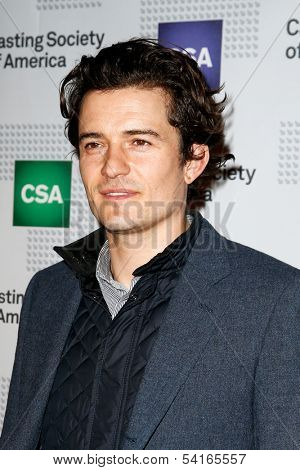 NEW YORK-NOV 18; Actor Orlando Bloom attends the CSA 29th Annual Artios Awards ceremony at the XL Nightclub on November 18, 2013 in New York City.