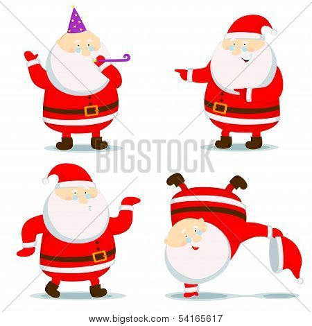 Different Santa Claus