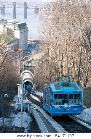 The Funicular From The Top