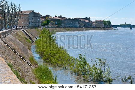 The Embankment Of Arles