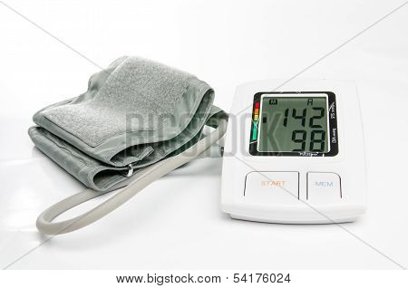 Hypertension digital blood pressure monitor