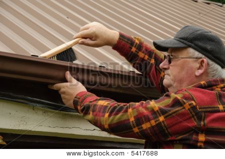 Senior Gutter Clean