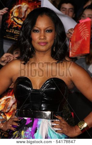 LOS ANGELES - NOV 18:  Garcelle Beauvais at the The Hunger Games:  Catching Fire Premiere at Nokia Theater on November 18, 2013 in Los Angeles, CA