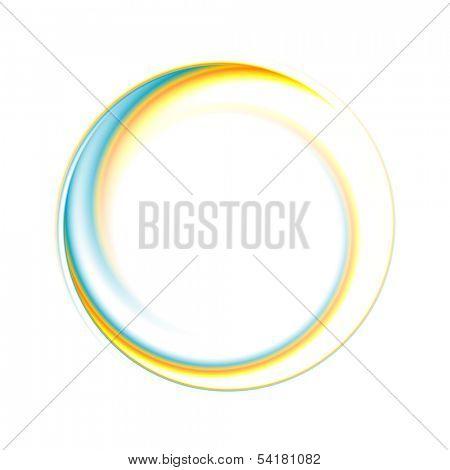 Fondo brillante círculo abstracto. Vector logo eps 10